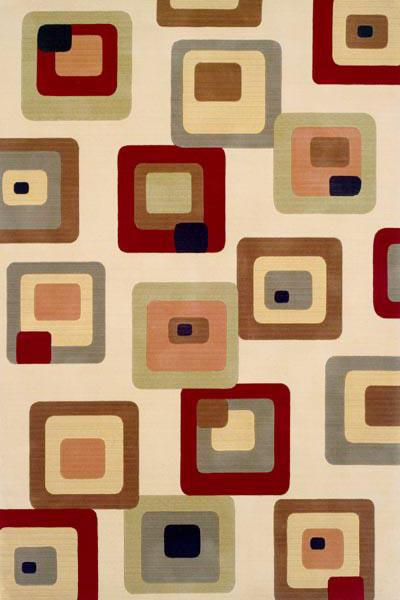 Momeni Elements Ivory EL-10 area rug