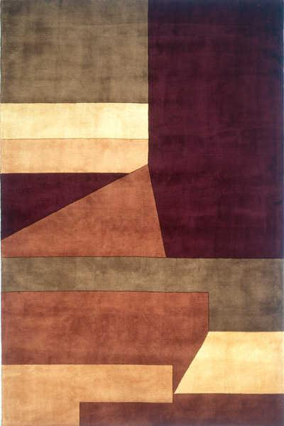 Momeni New Wave Wine NW-19 area rug