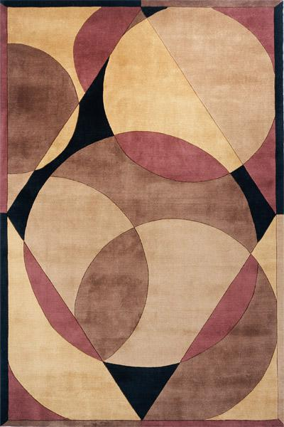 Momeni New Wave Brown NW-78 area rug