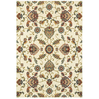 Oriental Weavers Kashan 9946W Ivory and Multi
