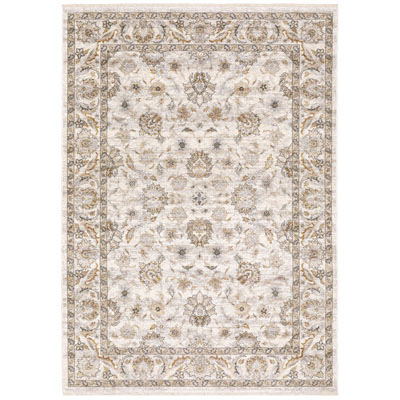 Oriental Weavers Maharaja 070W1 Ivory and Grey