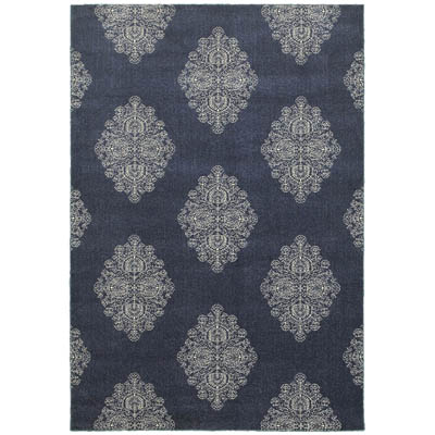 Oriental Weavers Pasha 5992K Blue and Ivory