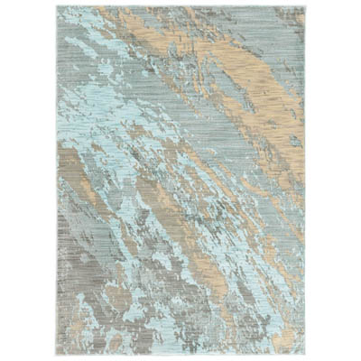 Oriental Weavers Sedona 6367A Blue and Grey