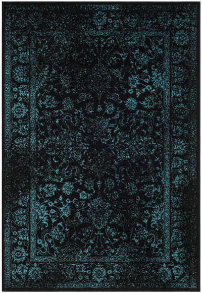 Safavieh Adirondack ADR109K Black and Teal