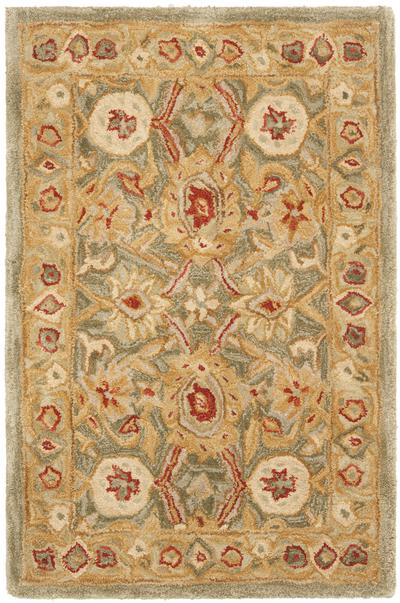 Safavieh Anatolia AN516A Sage and Ivory