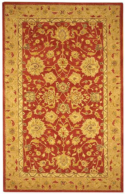 Safavieh Anatolia AN522A Red and Ivory