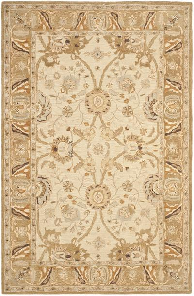 Safavieh Anatolia AN558B Silver and Light Brown area rug