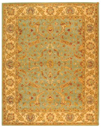 Safavieh Antiquity AT311B Teal and Beige