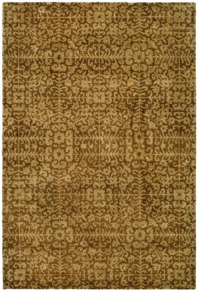 Safavieh Antiquity AT411A Gold and Beige