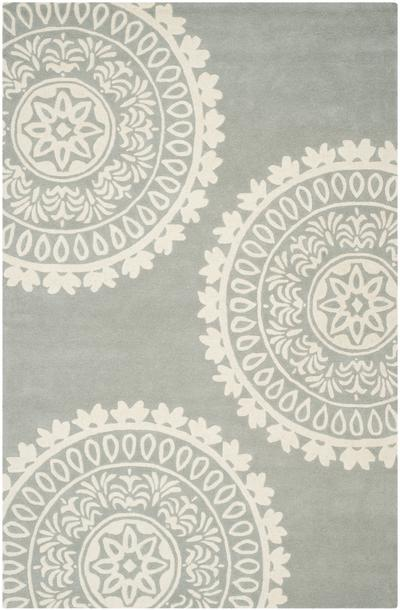 Safavieh Bella BEL121A Grey and Ivory