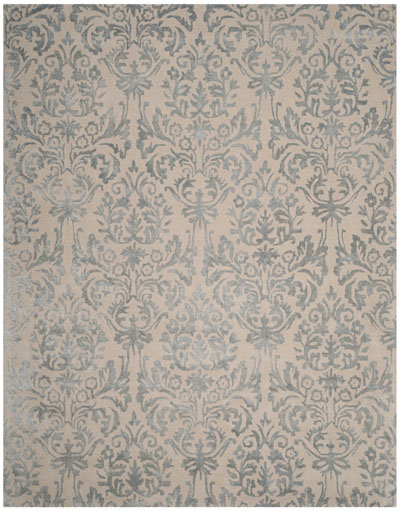44989bd13 Safavieh Bella BEL156A Ivory and Silver Area Rug