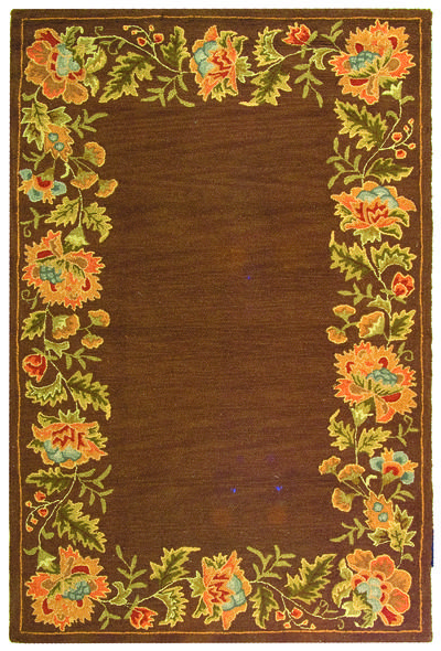 Safavieh Berkeley BK303A Brown area rug