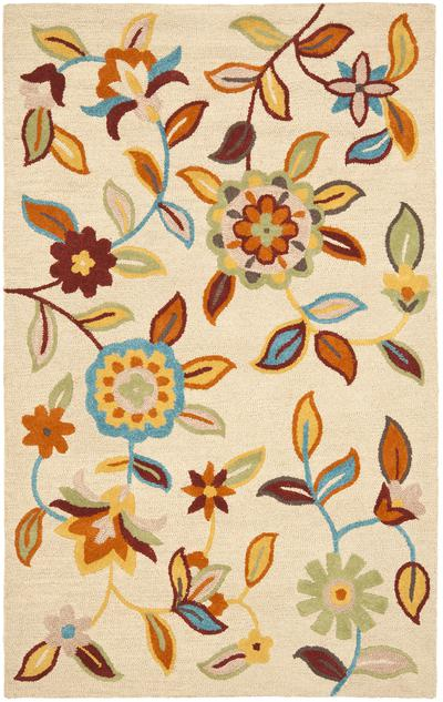 Safavieh Blossom BLM677A Beige and Multi area rug