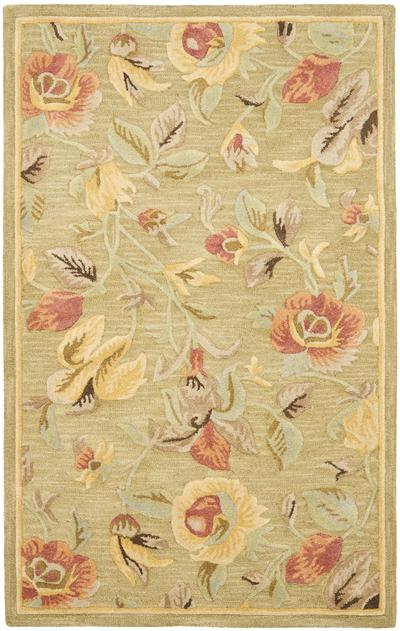 Safavieh Blossom BLM785A Green and Multi area rug