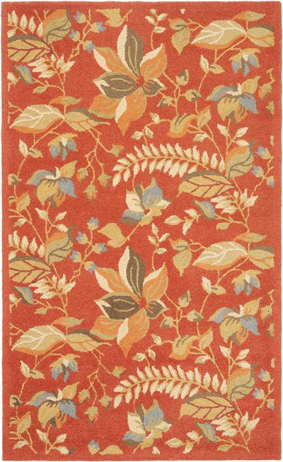Safavieh Blossom BLM913A Rust and Multi