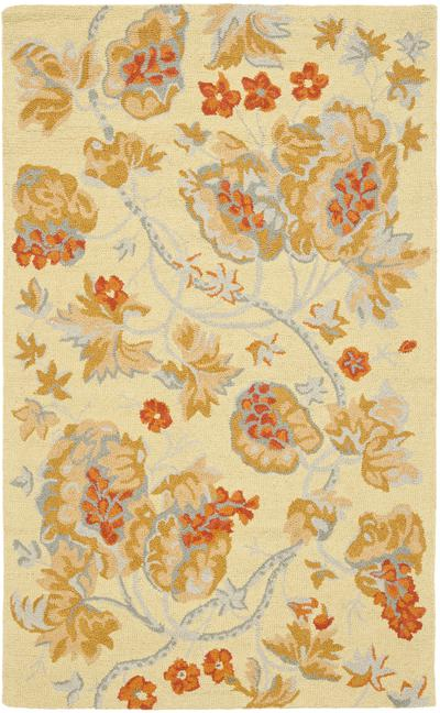 Safavieh Blossom BLM922A Beige and Multi area rug