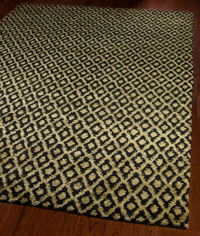 Safavieh Bohemian BOH315A Black and Gold area rug