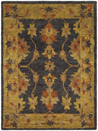Safavieh Bohemian BOH316A Charcoal and Gold