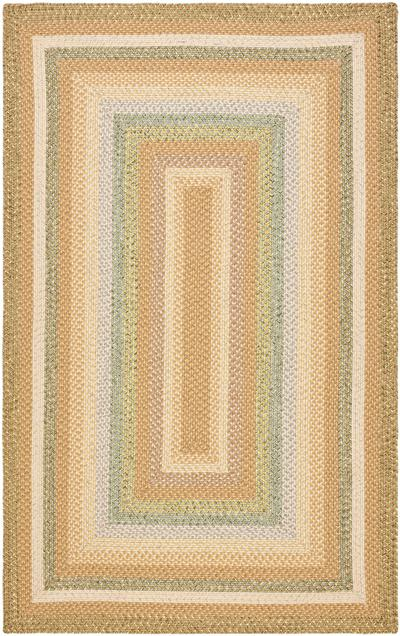 Safavieh Braided BRD314A Tan and Multi