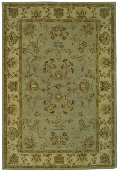 Safavieh Bergama BRG135C Light Blue and Ivory