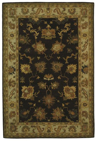 Safavieh Bergama BRG136B Brown and Ivory area rug
