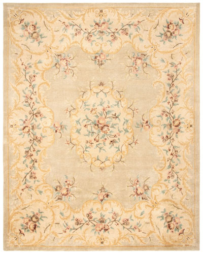 Safavieh Bergama BRG166B Light Green and Beige area rug