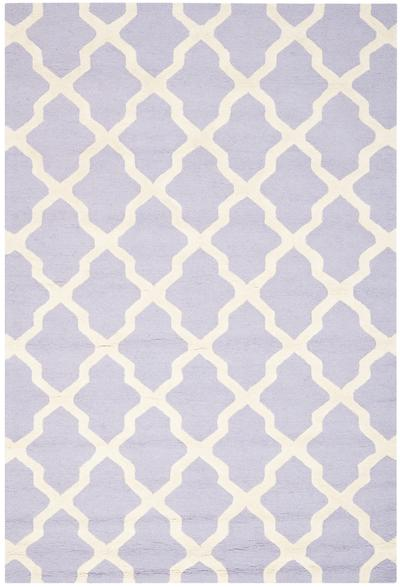 Safavieh Cambridge CAM121C Lavander and Ivory