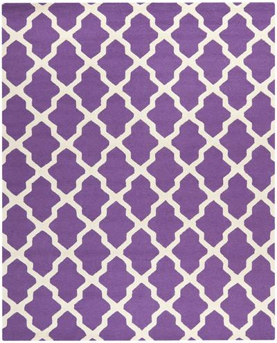 Safavieh Cambridge CAM121K Purple and Ivory