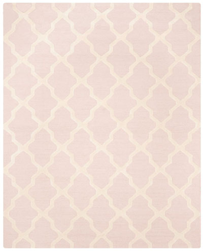 Safavieh Cambridge CAM121M Light Pink and Ivory