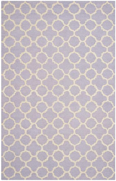 Safavieh Cambridge CAM130C Lavander and Ivory