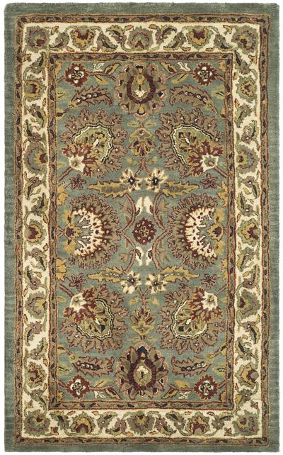 Safavieh Classic CL359B Light Blue and Ivory area rug