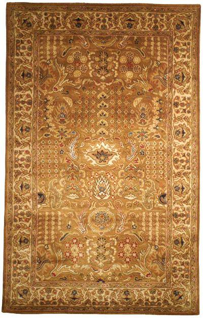 Safavieh Classic CL764A Gold and Beige