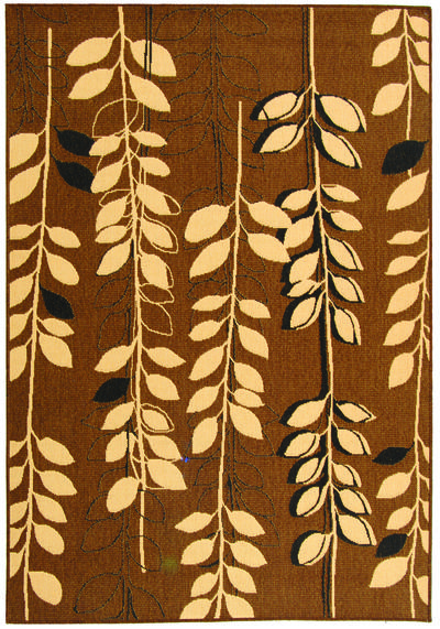 Safavieh Courtyard CY4029D Brown Natural and Black area rug
