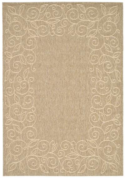 Safavieh Courtyard CY5139B Coffee and Sand area rug
