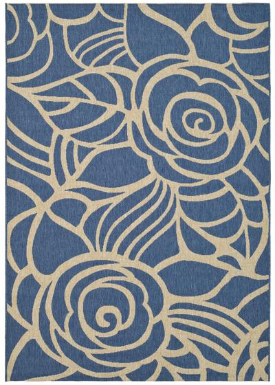 Safavieh Courtyard CY5141C Blue and Beige