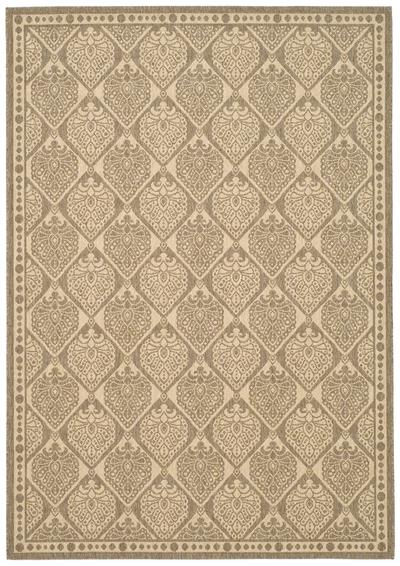 Safavieh Courtyard CY5149B Coffee and Sand area rug