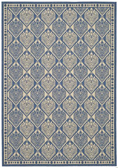 Safavieh Courtyard CY5149C Blue and Ivory area rug