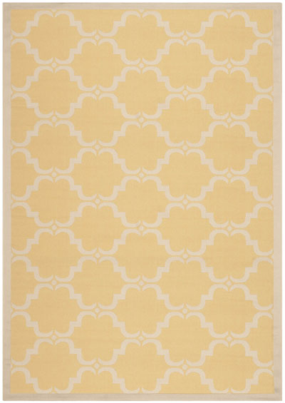 Safavieh Courtyard CY6009-316 Yellow and Beige