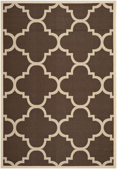 Safavieh Courtyard CY6243-204 Dark Brown