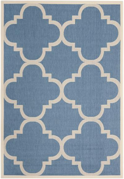 Safavieh Courtyard CY6243-243 Blue and Beige