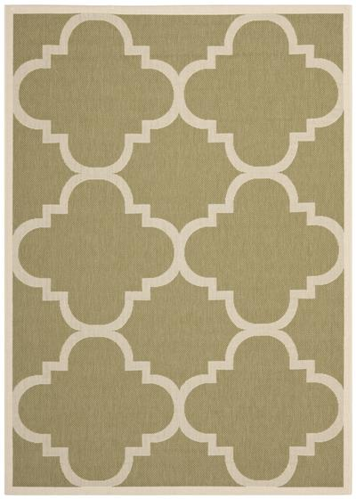 Safavieh Courtyard CY6243-244 Green and Beige