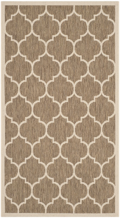Safavieh Courtyard CY6914-242 Brown and Bone
