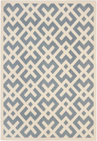 Safavieh Courtyard CY6915-233 Blue and Bone