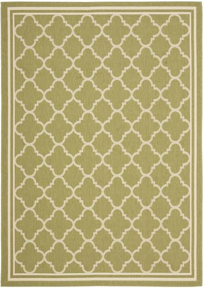Safavieh Courtyard CY6918-244 Green and Beige