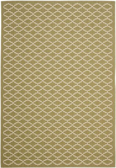 Safavieh Courtyard CY6919-244 Green and Beige