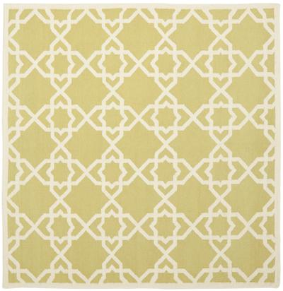 Safavieh Dhurries DHU548A Olive and Ivory area rug