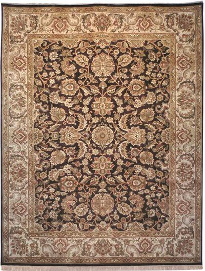 Safavieh Dynasty DY239A Cola and Beige