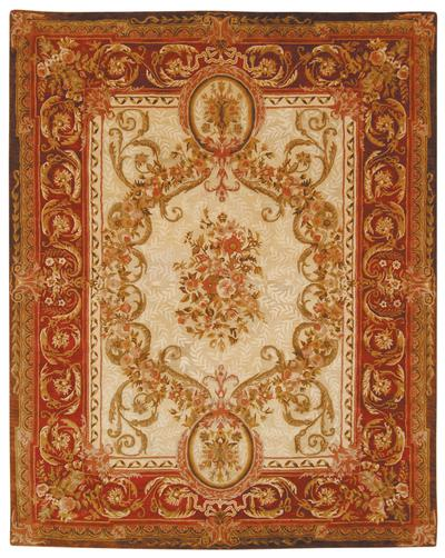 Safavieh Empire EM415A Light Gold and Red
