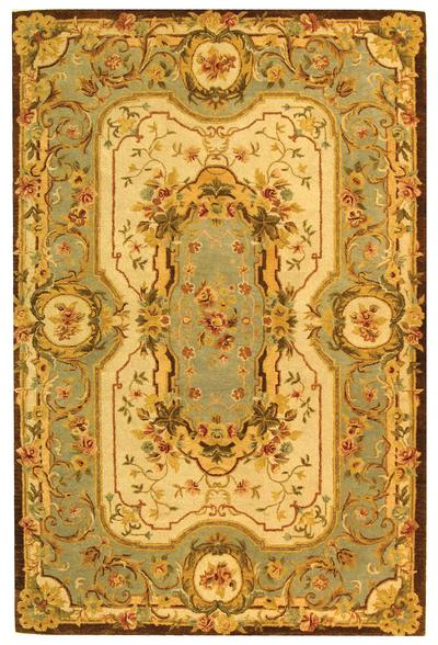 Safavieh Empire EM824A Ivory and Light Blue