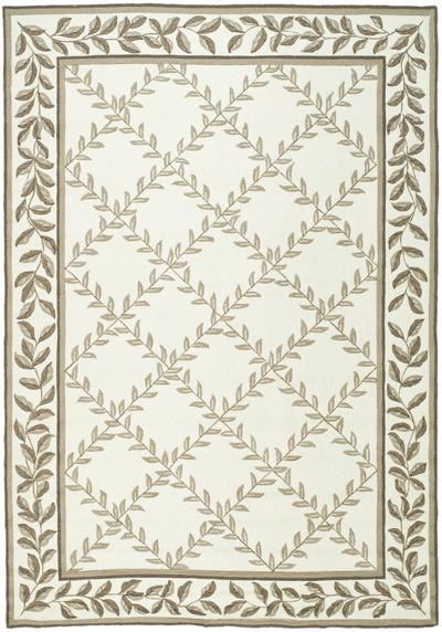 Safavieh DuraRug EZC430B Ivory and Sage area rug